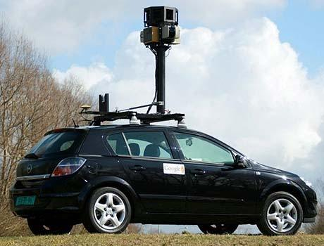 google street view opel astra